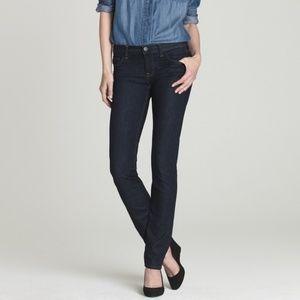J. Crew Dark Wash Matchstick Straight Jeans